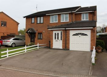 Thumbnail 3 bed semi-detached house for sale in Plough Close, Broughton Astley, Leicester