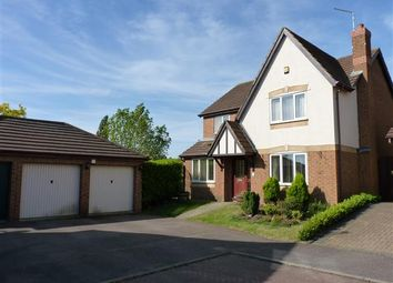 Thumbnail 4 bedroom detached house to rent in Mulberry Close, Wellingborough
