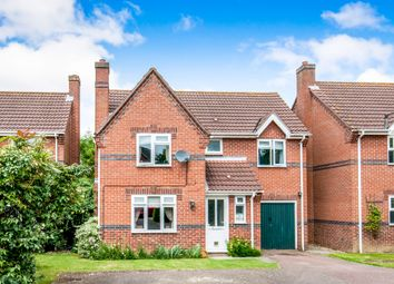 Thumbnail 4 bed detached house for sale in Potters Crescent, Great Moulton, Norwich
