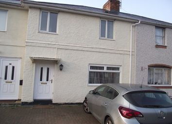 Thumbnail 3 bed terraced house to rent in Brickfields Road, Worcester