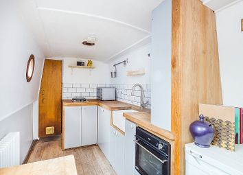 Thumbnail 1 bed houseboat for sale in Goodhart Place, London