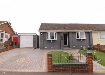 Thumbnail 2 bed semi-detached bungalow for sale in Ghyllside Avenue, Hastings, East Sussex