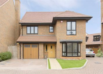 Thumbnail 4 bed detached house for sale in Bridgefields Close, Hornchurch