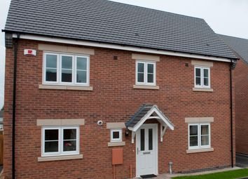 Thumbnail 3 bed detached house for sale in Off Kinross Way, Hinckley