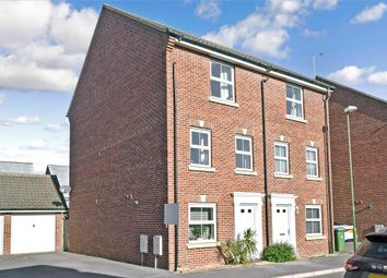 Thumbnail 4 bedroom town house for sale in Hollist Chase, Littlehampton, West Sussex