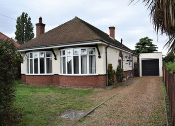 Thumbnail 4 bed detached bungalow for sale in Beccles Road, Gorleston, Great Yarmouth