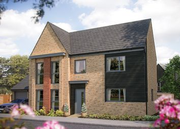 "Thumbnail 4 bed detached house for sale in ""The Allbrook"" at Station Road, Longstanton, Cambridge"