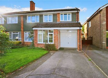 Thumbnail 4 bed semi-detached house for sale in Alder Close, Romsey, Hampshire