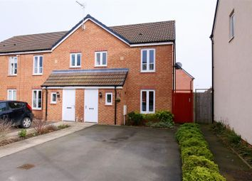 Thumbnail 3 bed end terrace house for sale in Willowford Close, Long Lawford, Rugby