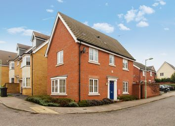 Thumbnail 3 bed detached house for sale in Partridge Close, Stowmarket