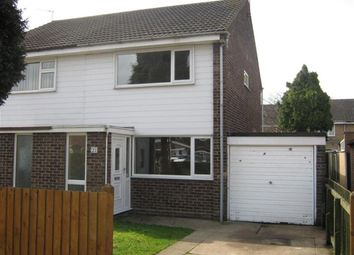 Thumbnail 2 bed semi-detached house to rent in Calderdale Drive, Long Eaton