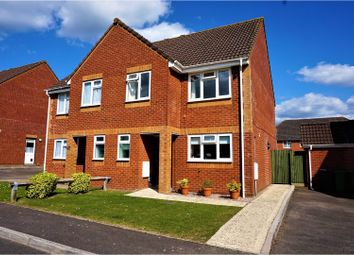Thumbnail 3 bed semi-detached house for sale in Deanes Close, Basingstoke