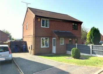 Thumbnail 2 bed semi-detached house for sale in Kibworth Close, Oakwood, Derby