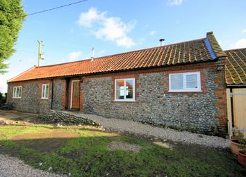 Thumbnail 2 bedroom barn conversion to rent in The Street, Thurgarton, Norwich