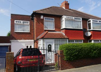Thumbnail 4 bedroom semi-detached house for sale in St Cuthberts Road, Fenham, Newcastle Upon Tyne