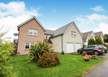 Thumbnail 5 bed detached house for sale in Kinnairdy Close, Torphins, Banchory