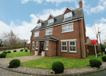 Thumbnail 5 bed detached house for sale in Spindle Lane, Dickens Heath, Shirley, Solihull