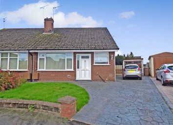 Thumbnail 3 bed semi-detached bungalow for sale in Attwood Close, Haslington, Crewe