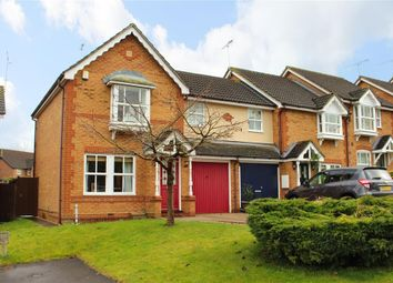 Thumbnail 3 bedroom end terrace house for sale in Trenthams Close, Purley On Thames, Reading