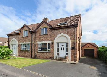 Thumbnail 3 bed semi-detached house for sale in Cronstown Cottage Park, Newtownards