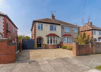 Thumbnail 3 bed semi-detached house for sale in Beaumont Avenue, Mansfield