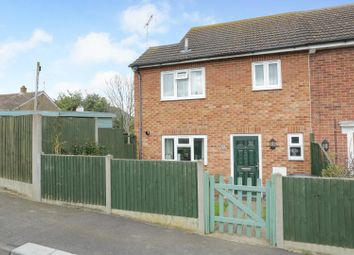 Thumbnail 3 bedroom end terrace house for sale in Deane Close, Whitstable
