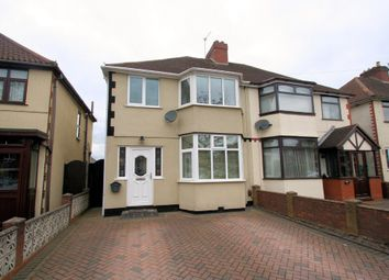 Thumbnail 3 bed semi-detached house for sale in Ridge Lane, Wednesfield, Wolverhampton