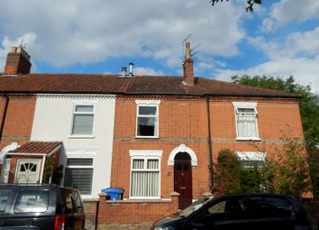 Thumbnail 3 bedroom terraced house to rent in Glebe Road, Norwich