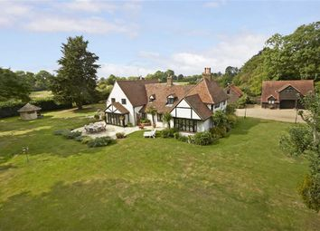 Thumbnail 5 bed detached house for sale in Vicarage Lane, Wraysbury Staines, Berkshire