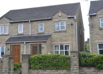 Thumbnail 3 bed semi-detached house for sale in Station Road, Clayton, Bradford