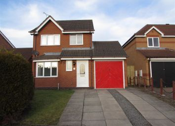 Thumbnail 3 bed detached house for sale in Fox Covert, Whetstone, Leicester