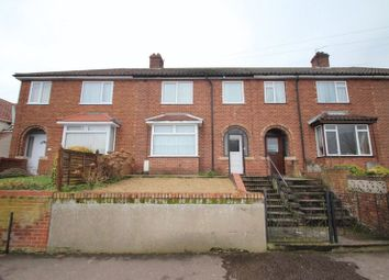 Thumbnail 3 bed terraced house for sale in Crome Road, Norwich