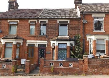 Thumbnail 2 bedroom terraced house for sale in Fore Hamlet, Ipswich