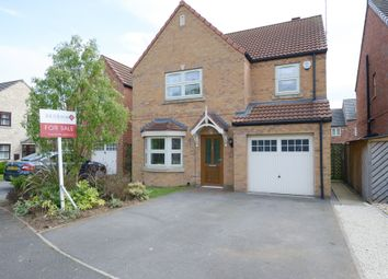 Thumbnail 4 bed detached house for sale in Water Lily Gardens, Creswell, Worksop