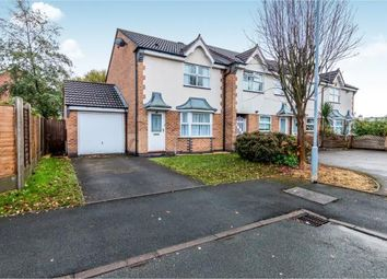 Thumbnail 3 bed end terrace house for sale in Bowlers Close, Festival Heights, Stoke On Trent, Staffs