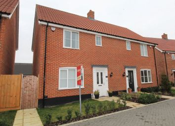 Thumbnail 3 bed property for sale in Wilson Road, Stalham, Norwich