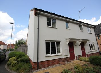 Thumbnail 3 bed semi-detached house for sale in Pump House Close, Costessey, Norwich