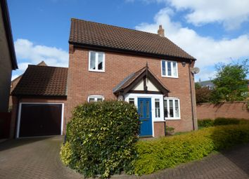 Thumbnail 3 bedroom detached house for sale in Hornbeam Drive, Poringland