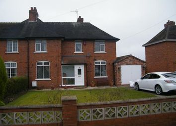 Thumbnail 3 bed semi-detached house for sale in Jones Lane, Burntwood, Staffordshire