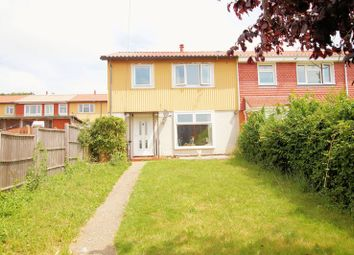 Thumbnail 3 bed end terrace house for sale in Severn Close, Cosham, Portsmouth
