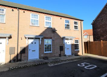 Thumbnail 2 bed terraced house for sale in Westside, Spalding