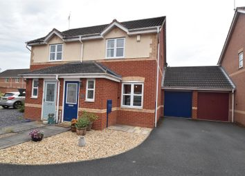 Thumbnail 2 bed semi-detached house for sale in Swan Drive, Droitwich