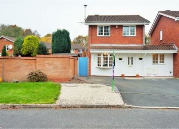 Thumbnail 3 bedroom detached house for sale in Grovefields, Leegomery Telford