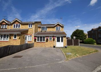 Thumbnail 4 bedroom end terrace house for sale in The Glen, Basildon, Essex