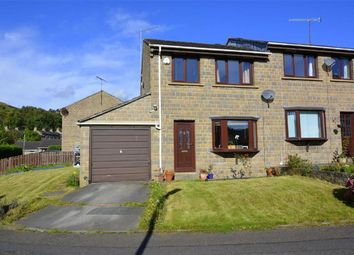 Thumbnail 3 bedroom semi-detached house for sale in Crowther Close, Slaithwaite, Huddersfield