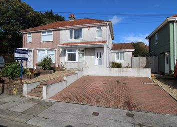 Thumbnail 3 bed semi-detached house for sale in Leat Walk, Peverell, Plymouth