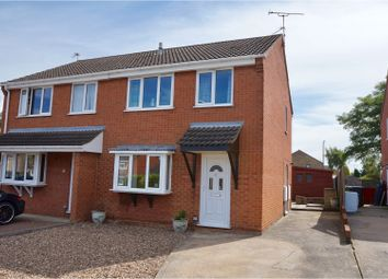 Thumbnail 3 bed semi-detached house for sale in Leconfield Close, Lincoln