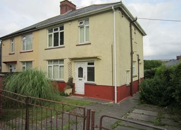 Thumbnail 3 bed semi-detached house for sale in Lewis Crescent, Gilfach