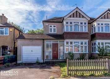 Thumbnail 4 bed semi-detached house for sale in Leighton Avenue, Pinner, Greater London