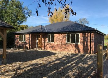 Thumbnail 3 bedroom detached bungalow for sale in Heath Road, Woolpit, Bury St. Edmunds